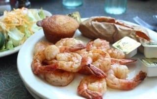 Shrimp at Fender's Diner
