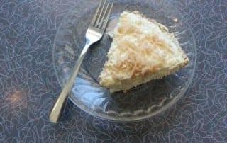 Coconut Pie at Fender's Diner
